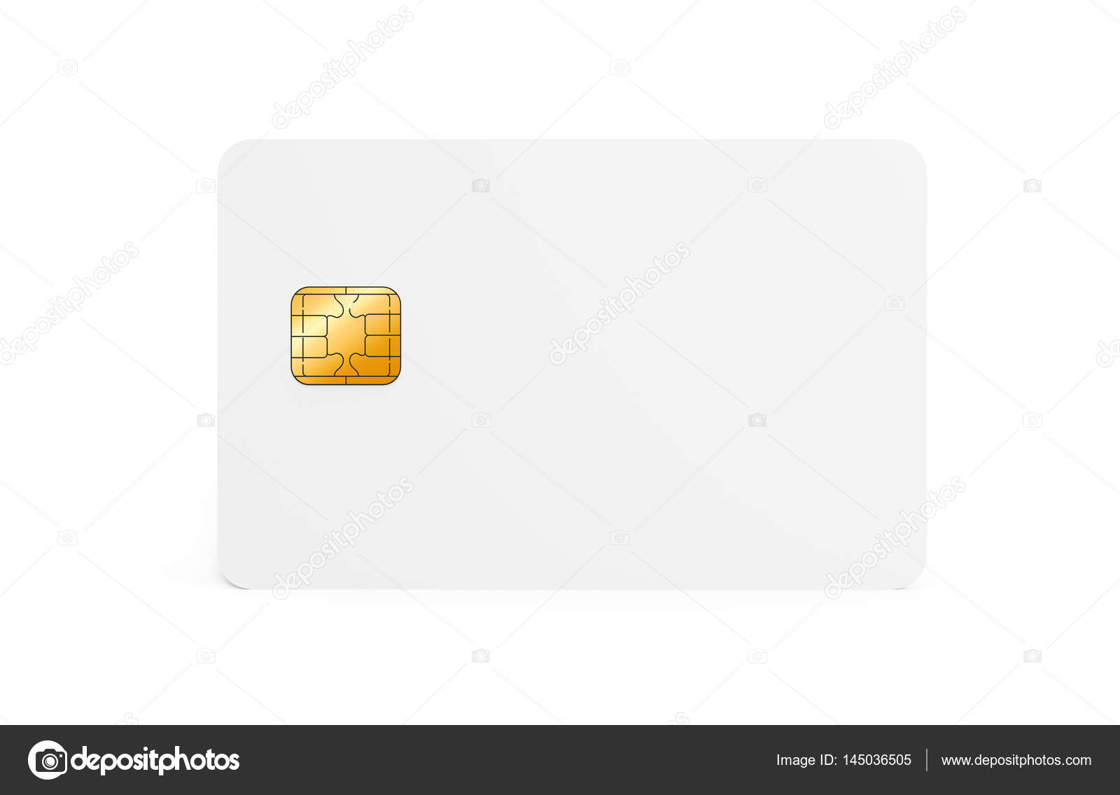 Blank credit card template — Stock Photo © HstrongART #145036505