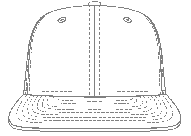 nike hat white front blank hat template