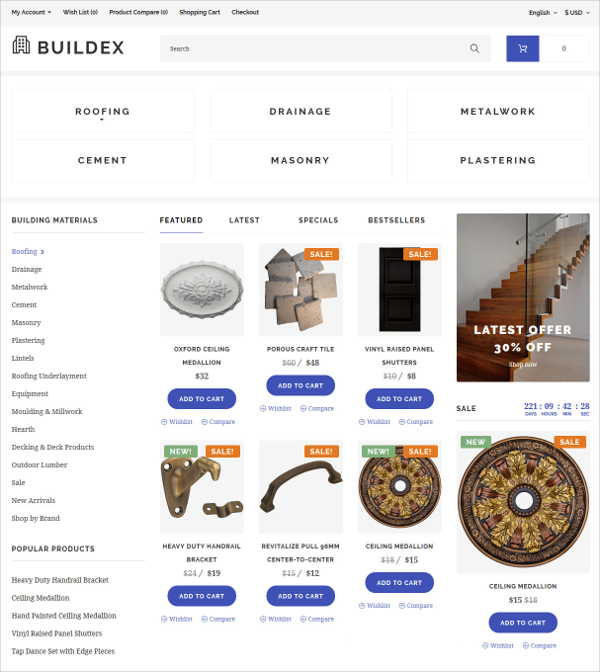 50+ Outstanding Bootstrap Ecommerce Templates wpfreeware