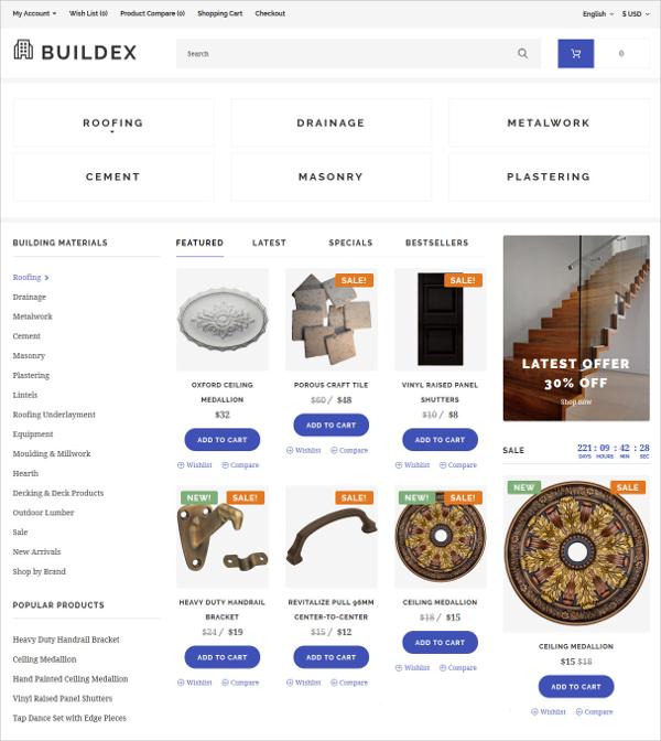 19+ eCommerce Bootstrap Themes & Templates | Free & Premium Templates