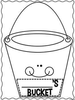 How Full Is Your Bucket Activity | 1st grade | Pinterest | Buckets