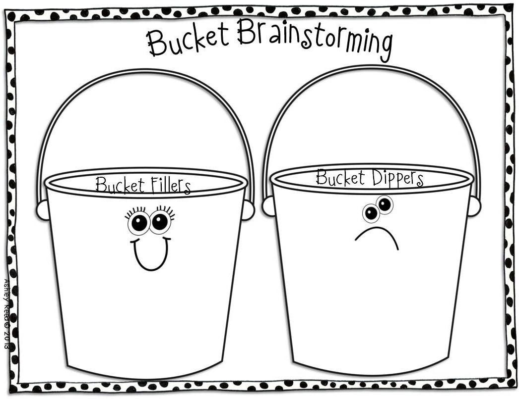 Bucket Filler Template | melanoma2010.com