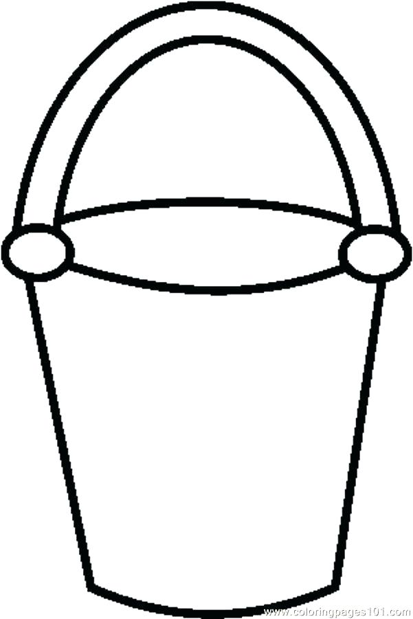 Bucket Filler Coloring Page Bucket Filling Coloring Pages See 4