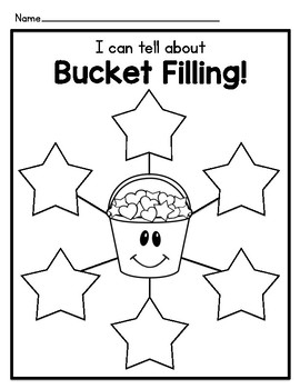 Bucket Filler Graphic Organizers and Writing Templates by Nugget