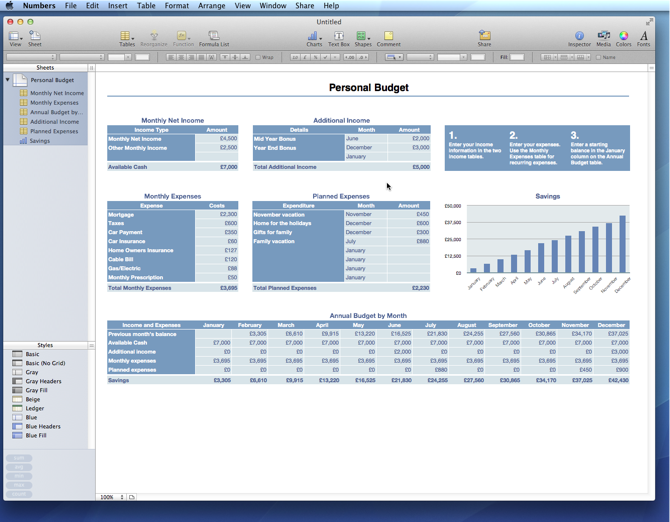 business templates for numbers mac mac numbers budget template