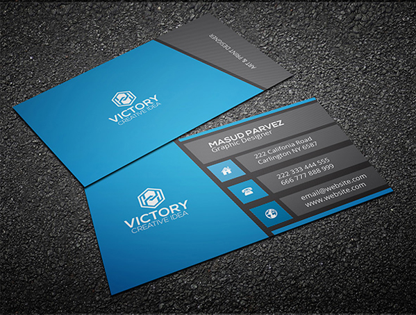 business card photoshop template Melo.in tandem.co