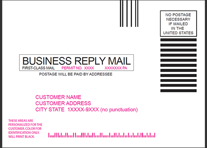 Business Reply Mail Template – The Best Templates Collection
