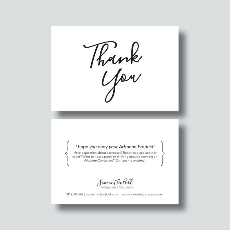 Business Th Marvelous Business Thank You Card Template Home