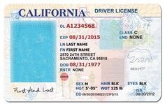 California Id Template Download Luxury 27 Of California Drivers