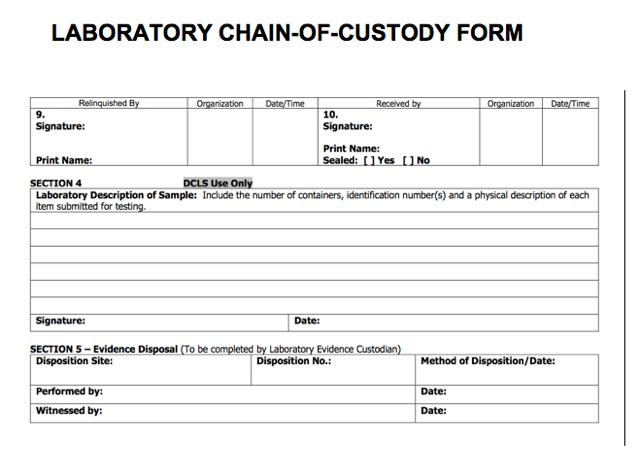 Keeping a Chain of Custody for Digital Evidence