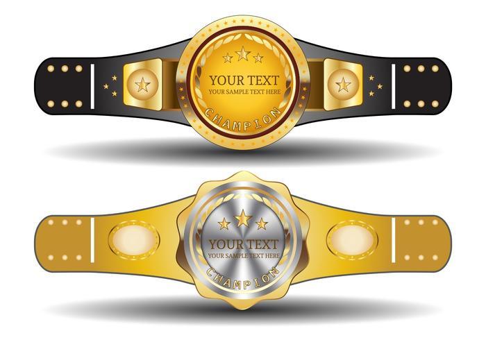 Championship Belt Template Download Free Vector Art, Stock
