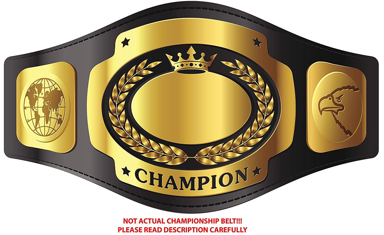 WWE Championship belt template YouTube