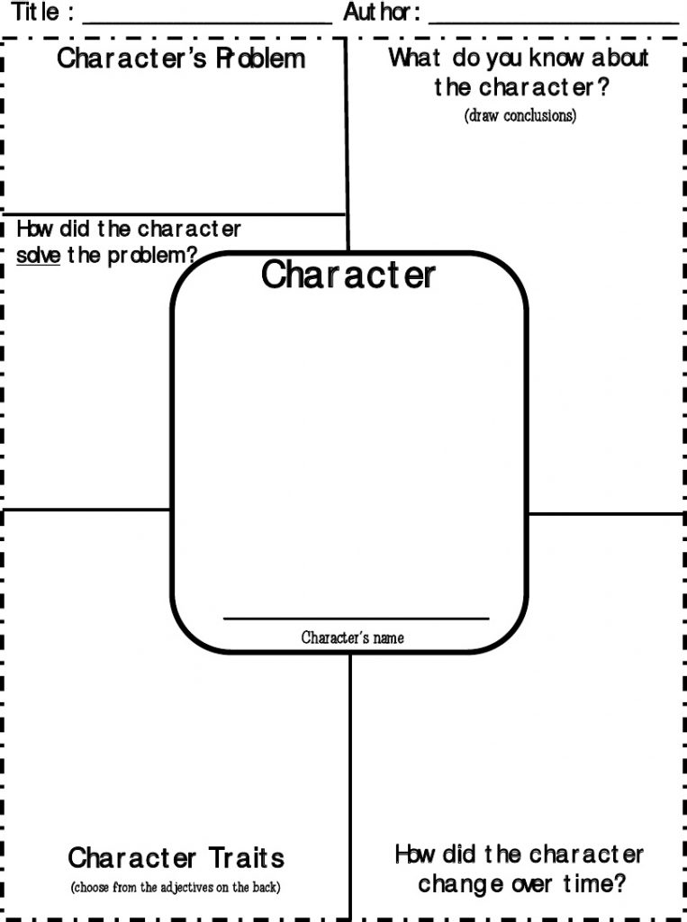 Character Sketch Template For Kids #1182 1024×969 |