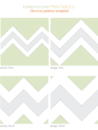 Free Printable Chevron stencil for projects | Scribd | Crafts