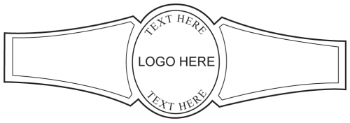 Custom Cigar Band Template 03 Personal Cigar Bands