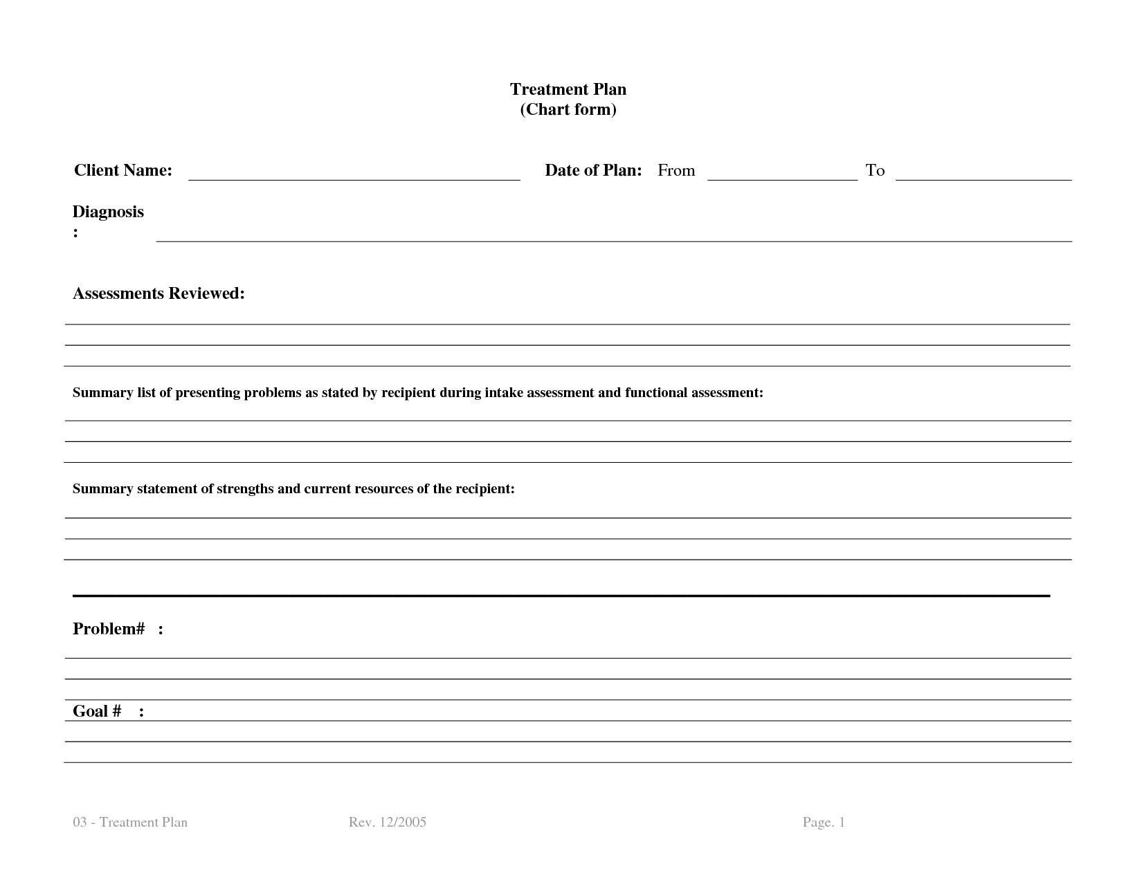 treatment plan template Bm4UCNTx | Therapy | Pinterest