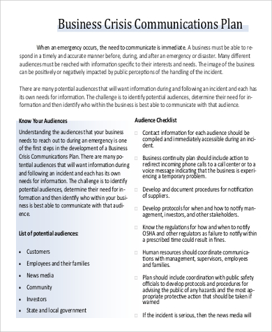 crisis communications plan template April.onthemarch.co