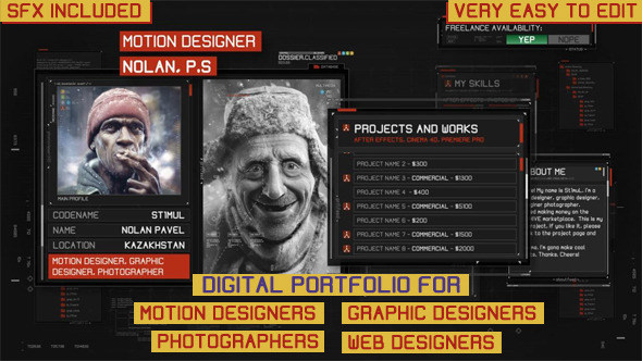 25 Images of Digital Portfolio Template   leseriail.com