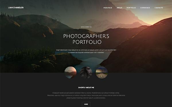 Stylish Portfolio One Page Bootstrap Portfolio Theme Start