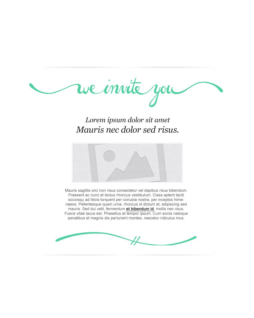 Email Invitations Templates Html Email Event Invitation Template