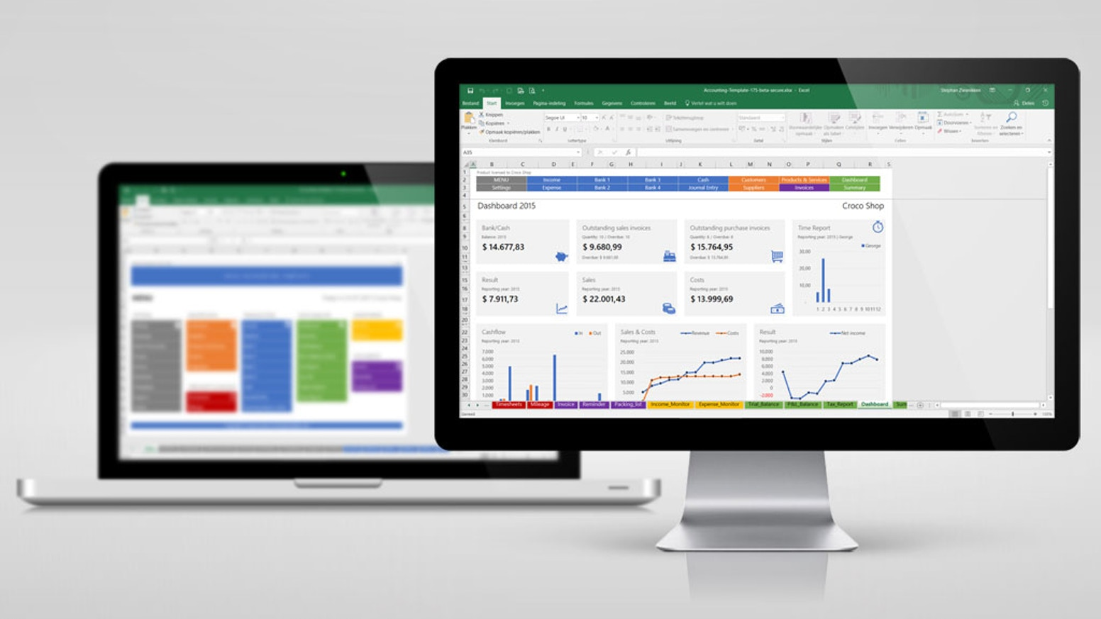 Excel Accounting Template by Stephan Zwanikken — Kickstarter