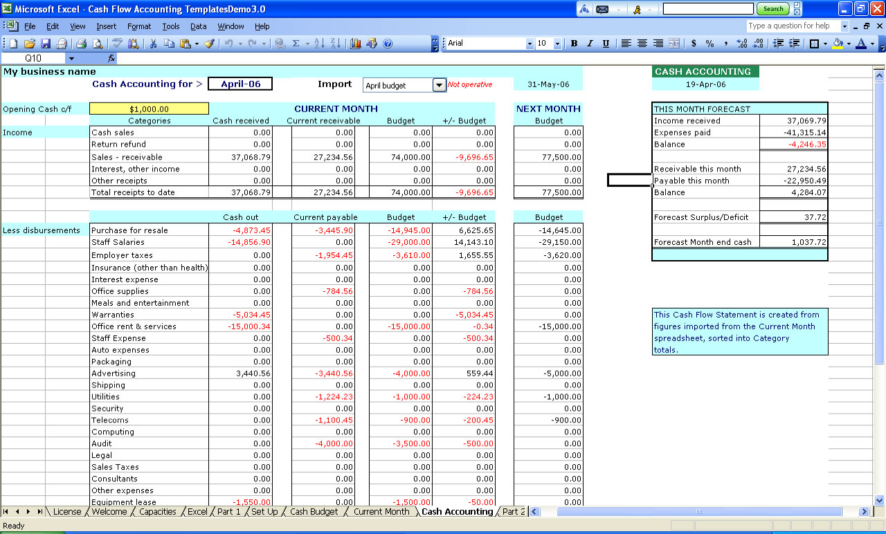 accounting template excel Melo.in tandem.co