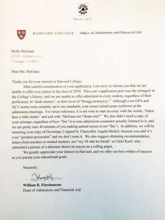 fake college acceptance letter Melo.in tandem.co