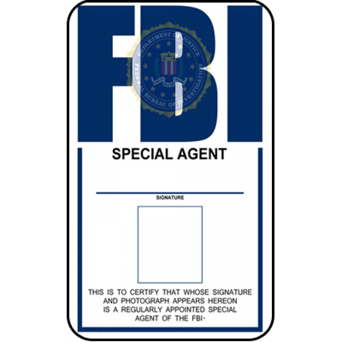 F.B.I. ID from The X Files Template 1 by Juan8T88 on deviantART