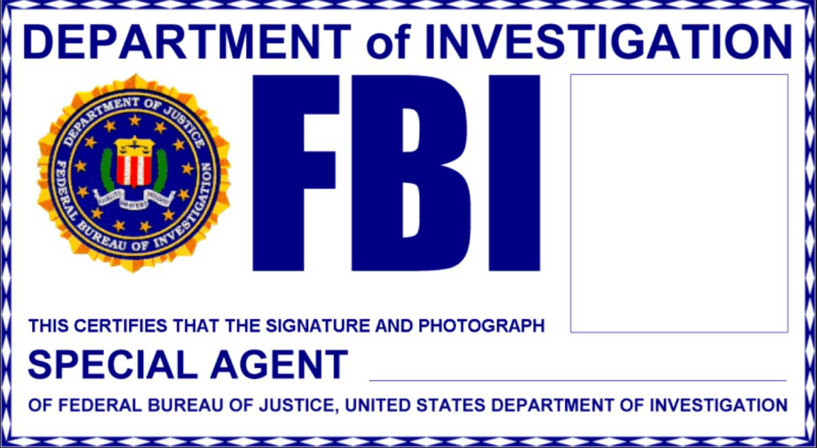 Ideas Collection for Fbi Badge Template Also Job Summary Wosing