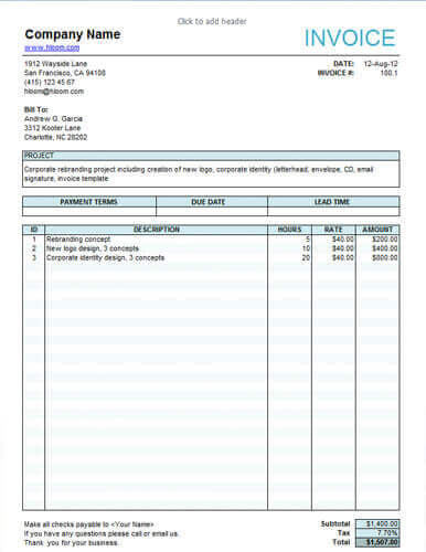 Film Invoice Template Serjiom Journal
