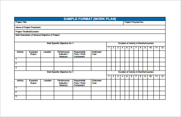 Financial Plan Templates 10+ Free Word, Excel, PDF Documents