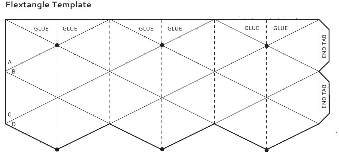 flextangles template Google Search | craft ideas | Pinterest
