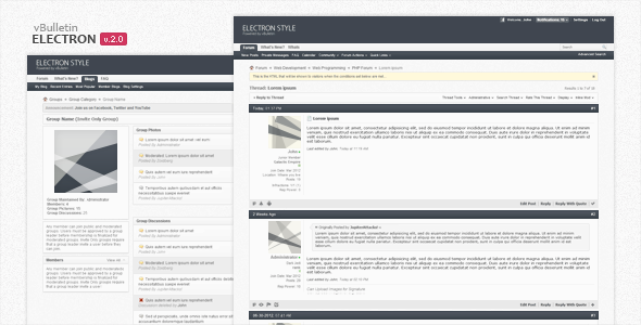 free forum template download Melo.in tandem.co