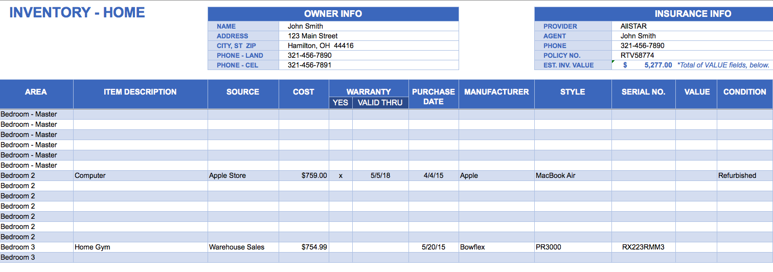 software inventory template excel Melo.in tandem.co
