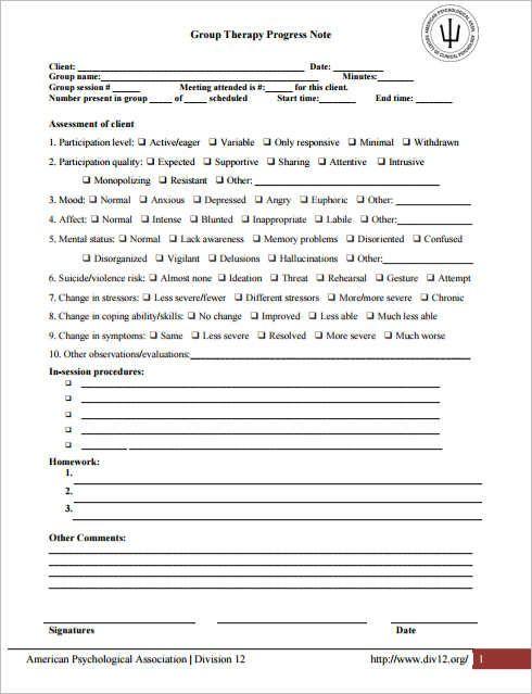 10+ Progress Note Templates PDF, DOC | Free & Premium Templates