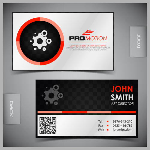 Front And Back Business Card Template | direnisteyiz3.org