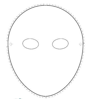 Full Face Mask Template | merrychristmaswishes.info