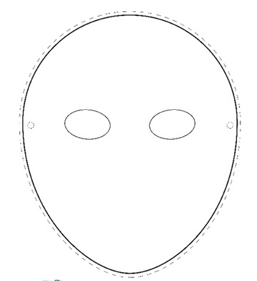 photograph regarding Mask Template Printable identify Entire Deal with Mask Template