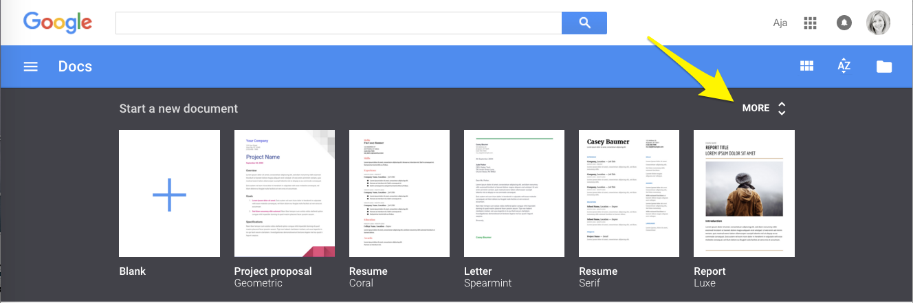 How To Use Google Docs Templates | Template Business Idea