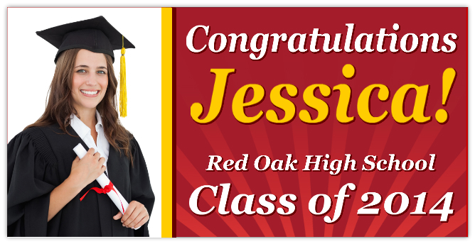 Graduation Banner 101 | Graduation Banner Templates | Templates