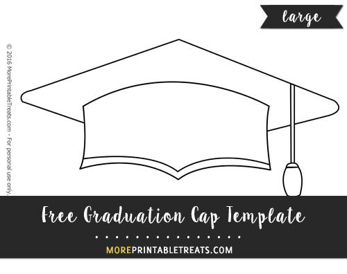 Graduation Hat Template | Graduation Cap pattern | 1st grade