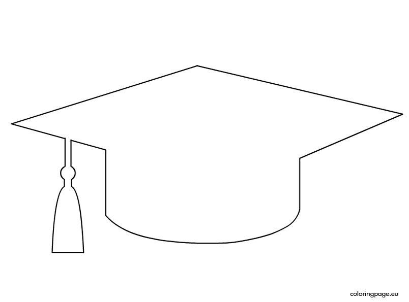 graduation cap template printable graduation hat template
