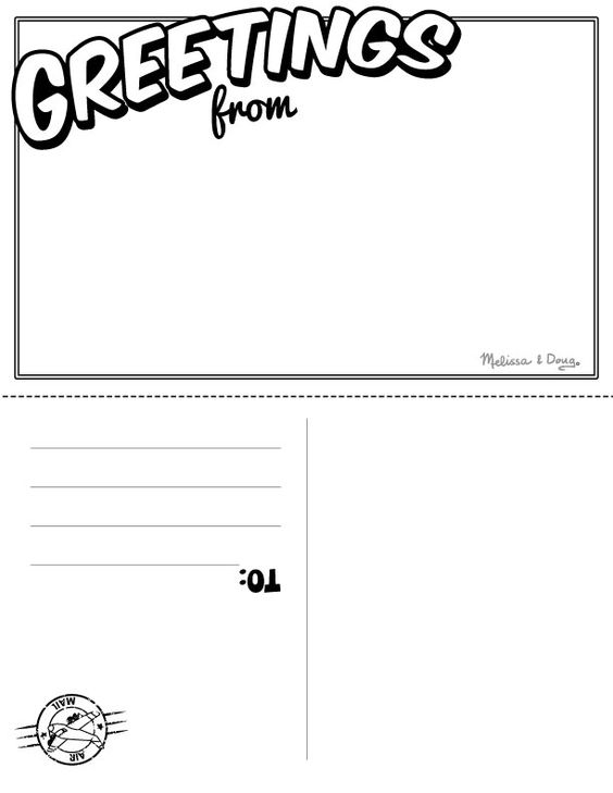 greetings from postcard template pin jenny envy on historical