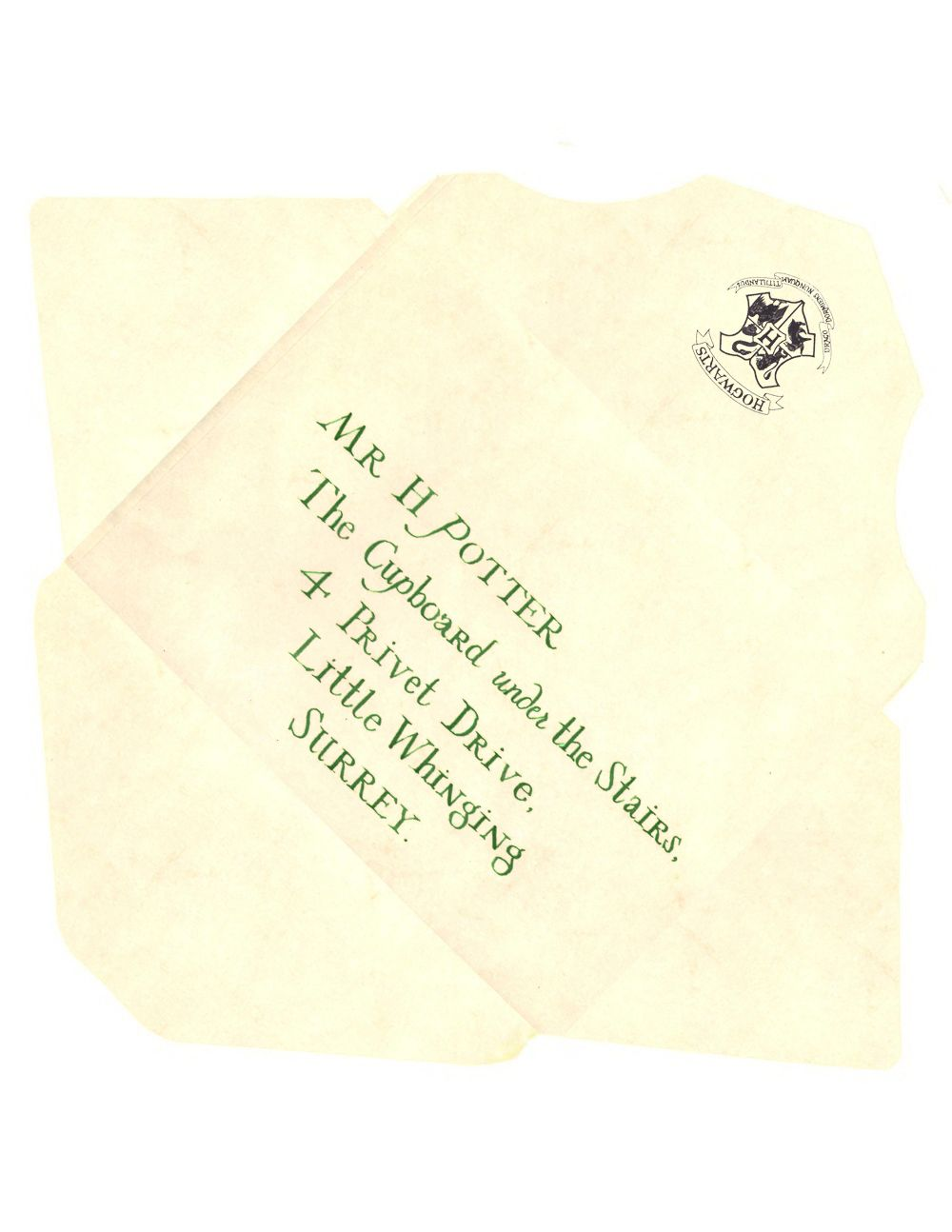 Acceptance Harry Letter Potter Envelope Template | For the Home