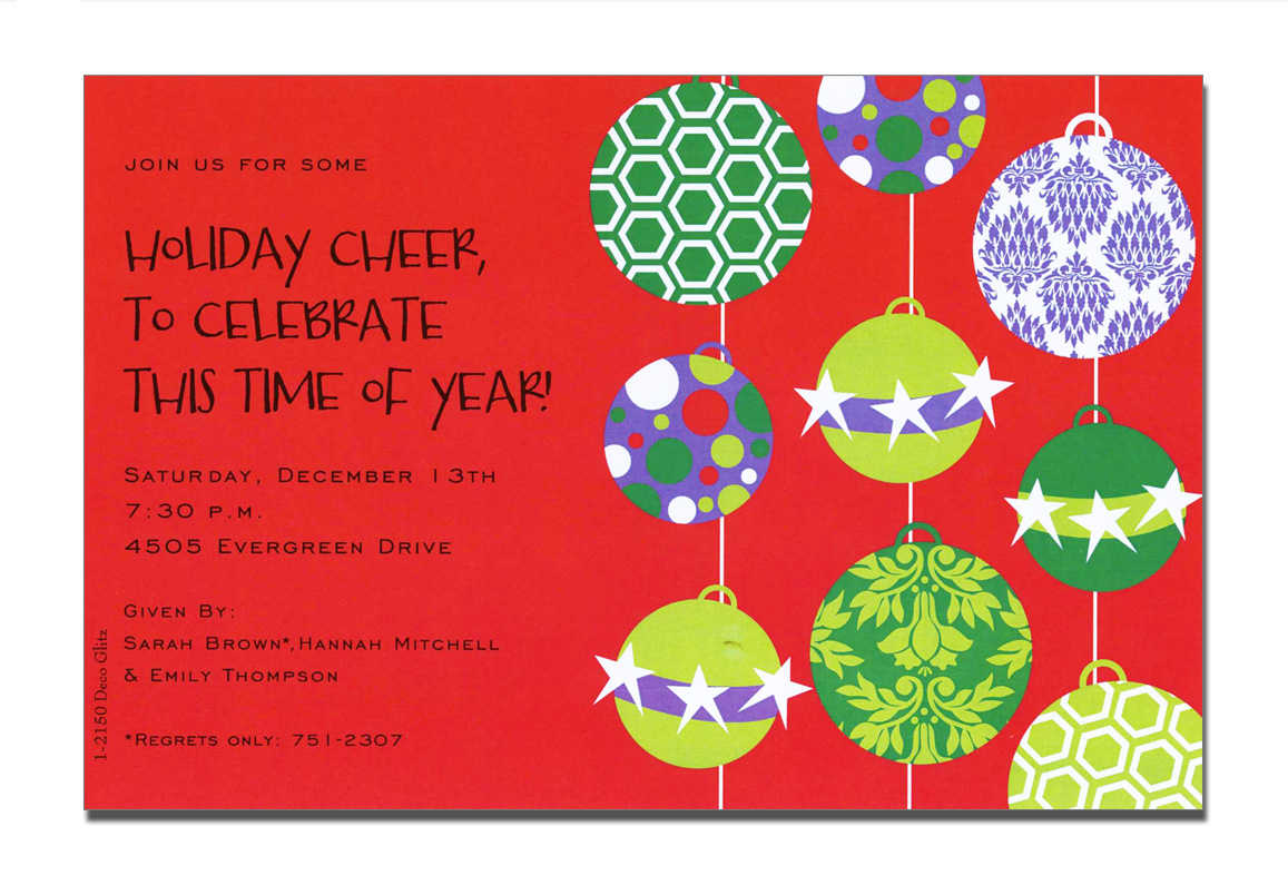 holiday open house invites Melo.in tandem.co