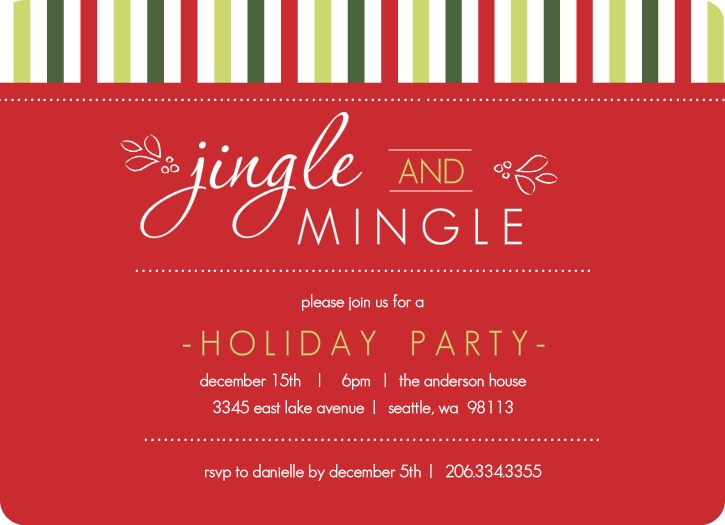 free holiday party invitation template Melo.in tandem.co