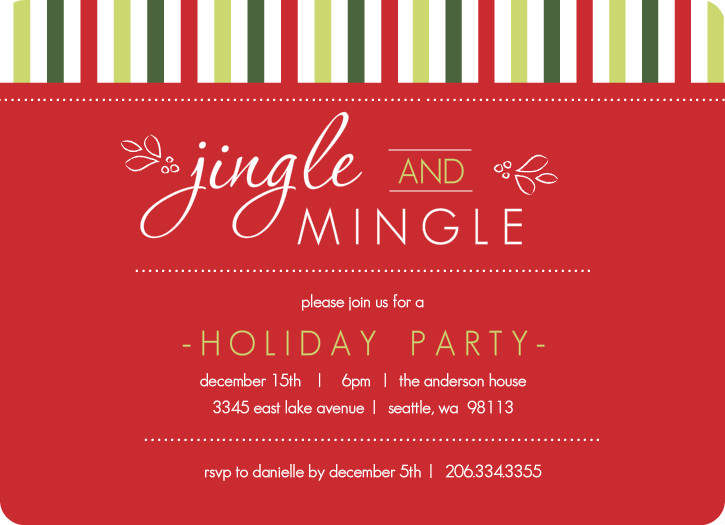 Holiday Invite Template New Microsoft Office Party Invitation