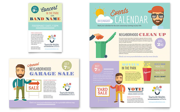 hoa newsletter templates Melo.in tandem.co