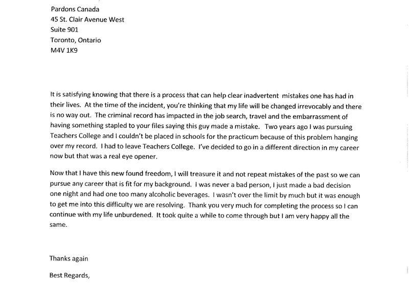 sample pardon recommendation letter Melo.in tandem.co