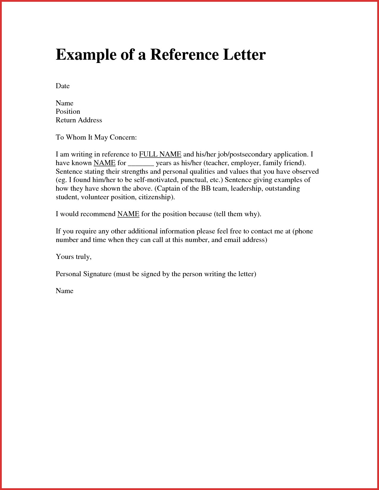 letter of recommendation for immigration of a friend Melo.in
